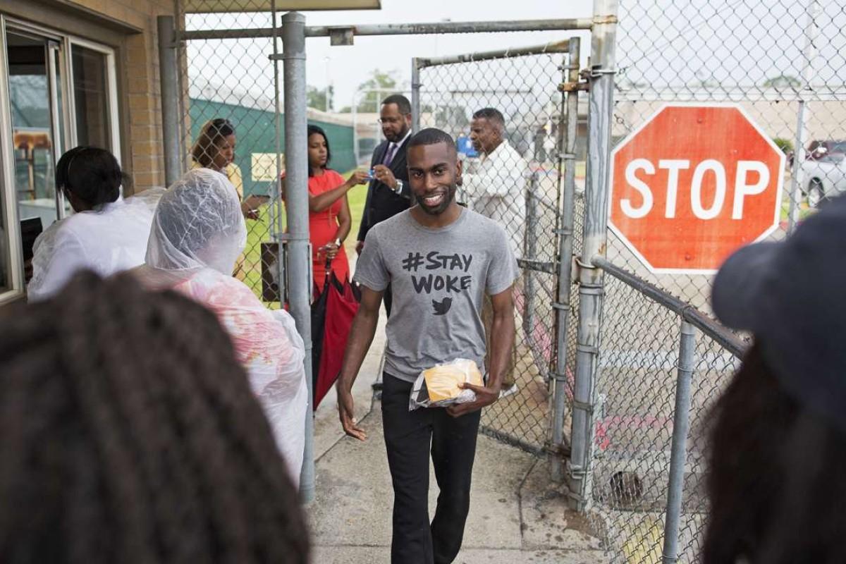 Black Lives Matter activist DeRay Mckesson is released after