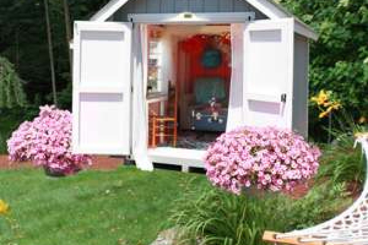 introducing the 'she shed' – female equivalent of the 'man