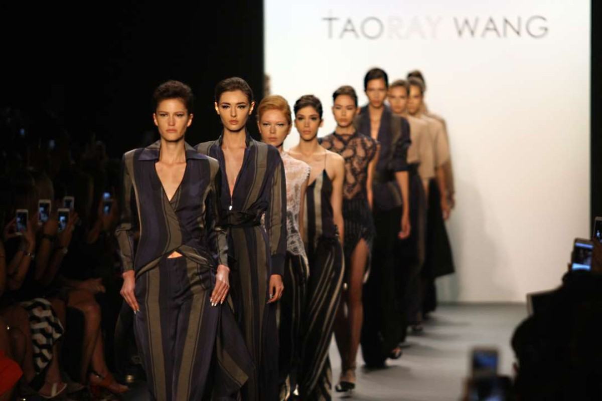 6bcef54f86b Looks from the Taoray Wang spring/summer 2017 collection at New York  Fashion Week.