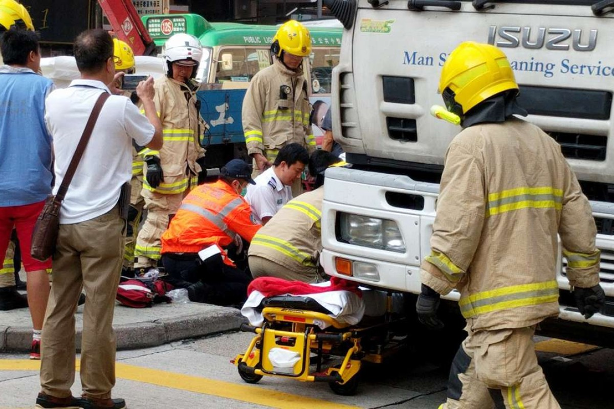 Elderly woman dies after being hit by garbage truck at Mong