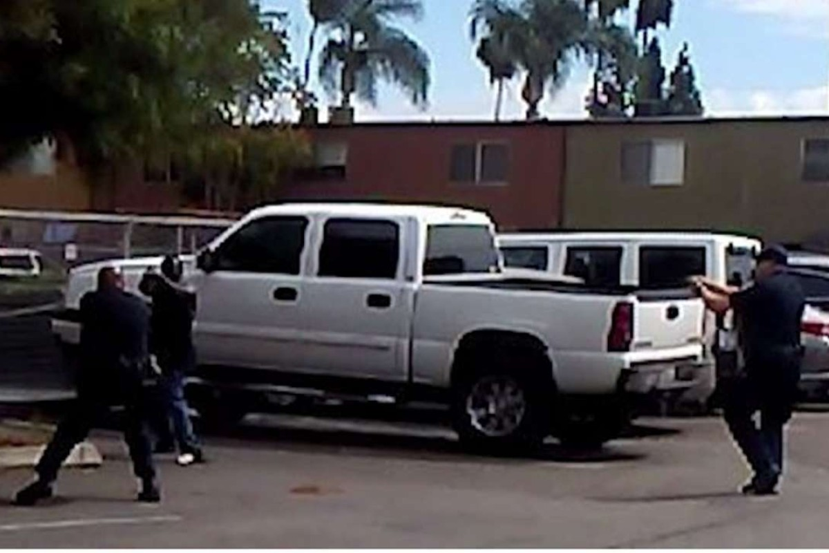 California police release videos of fatal shooting of