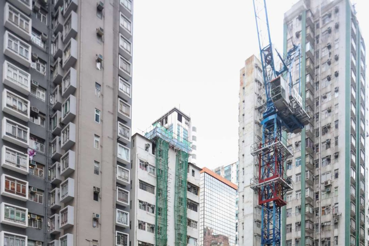 Henderson Land's One Prestige under construction in North Point, Hong Kong. Emperor's apartments will be 25 per cent smaller when they are completed. Photo: Felix Wong
