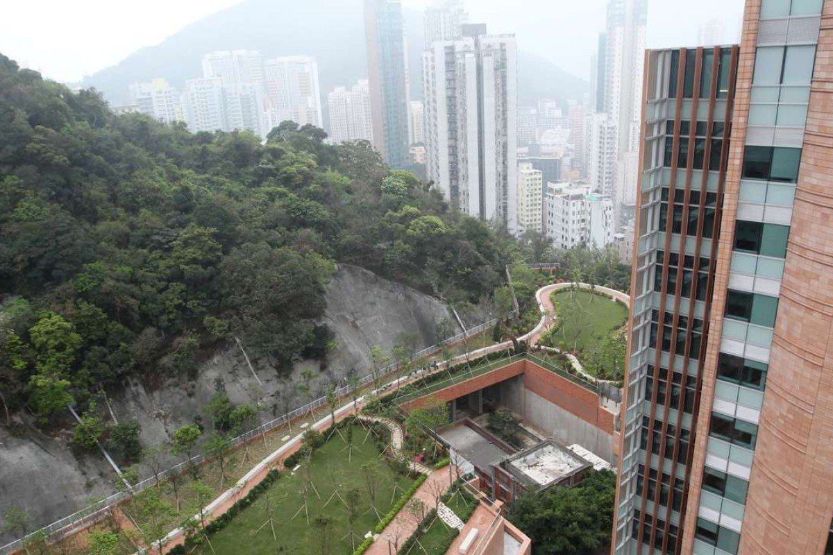 One of the cavern projects already implemented in Hong Kong is the relocation of two salt water service reservoirs to make way for the development of Hong Kong University's Centennial Campus. Photo: Jonathan Wong