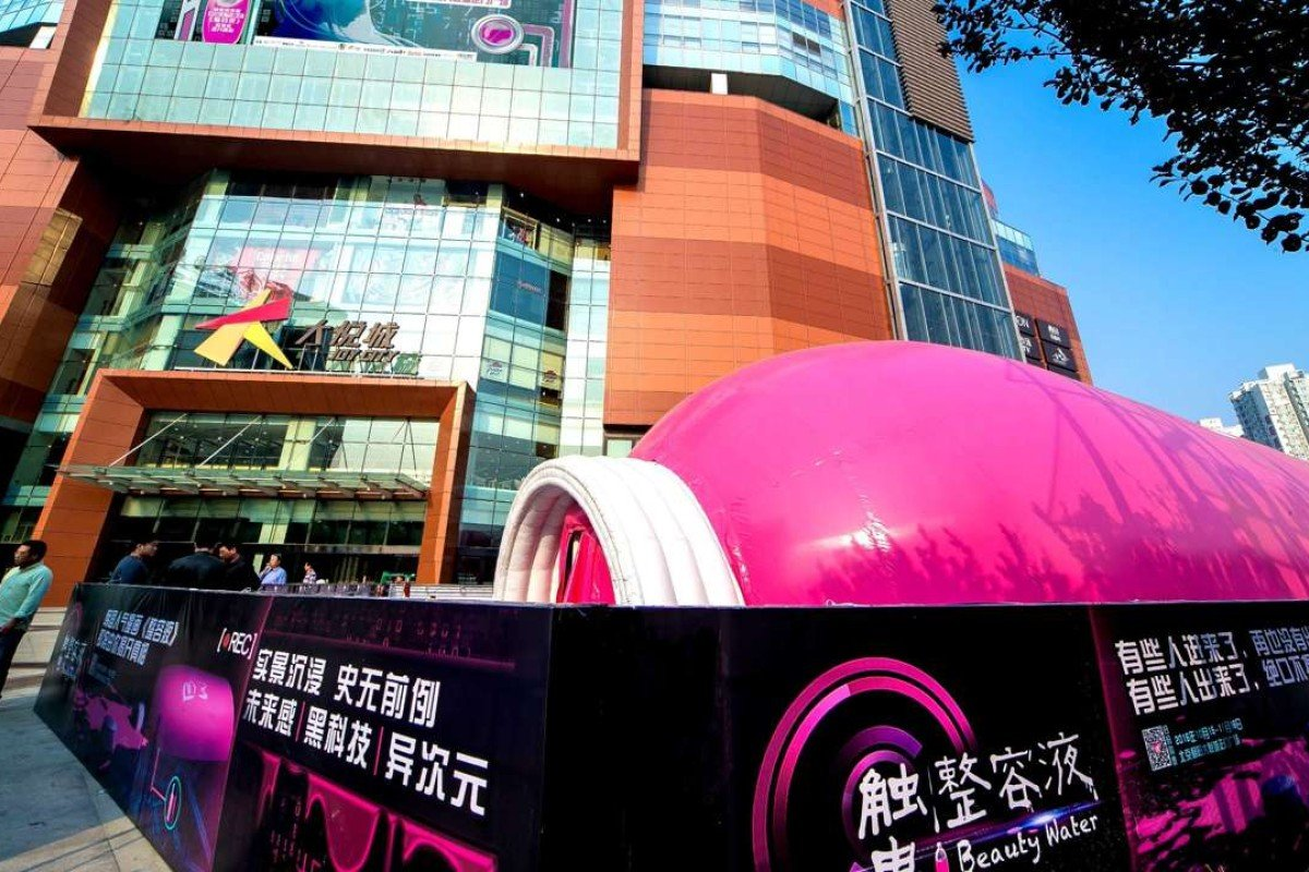 Fright nights and blind dates: China's malls put on a new