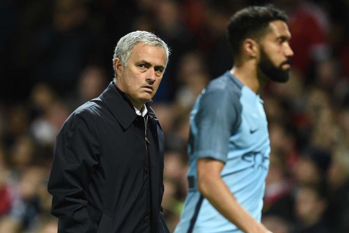 7113a1b2e57 Manchester United manager Jose Mourinho had been under pressure ahead of  the win over city rivals