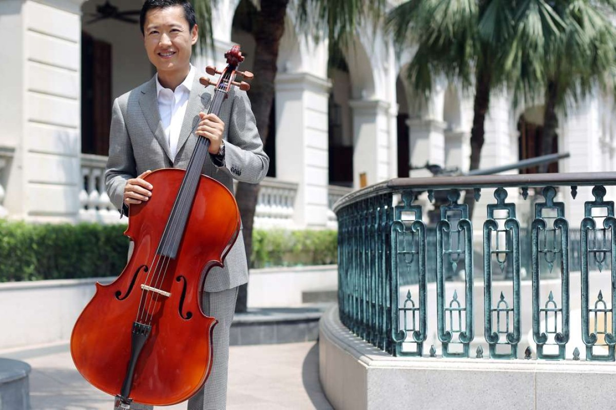 2590e5a532273 Cellist Trey Lee Chui-yee founded the Musicus festival with his sister Lee  Chui-
