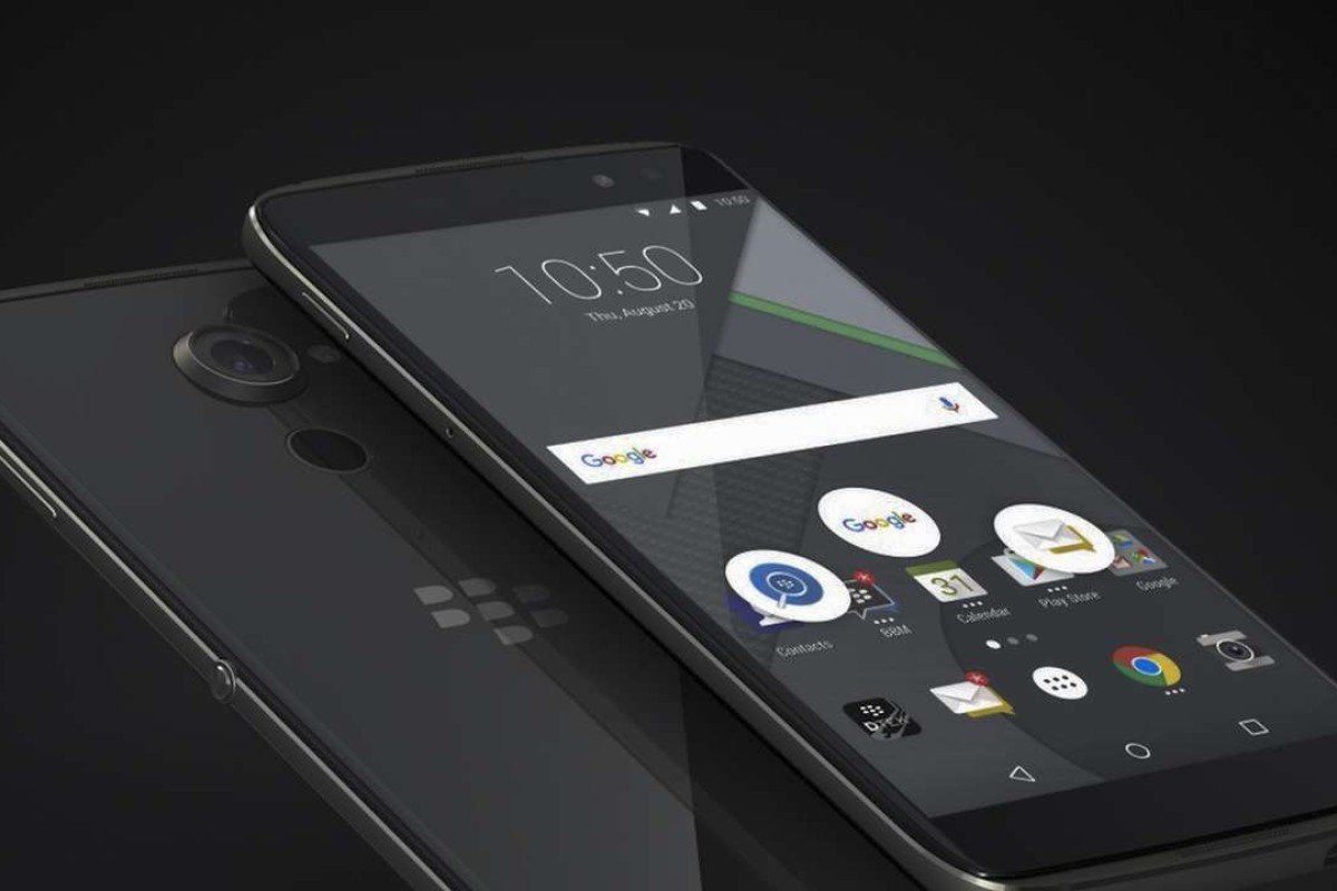 The most beautiful Android BlackBerry ever: DTEK60 - first