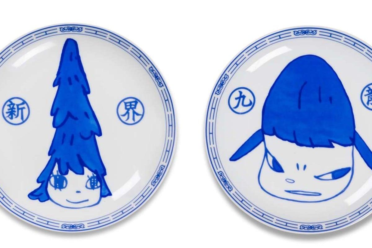 Yoshitomo Nara plates auctioned for 18 times 2015 retail