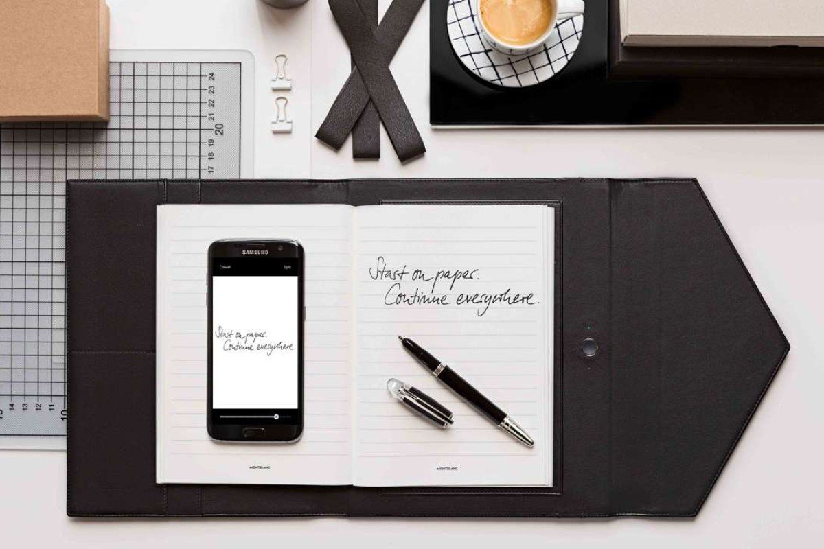 Montblanc smart pen lets you transfer the written word