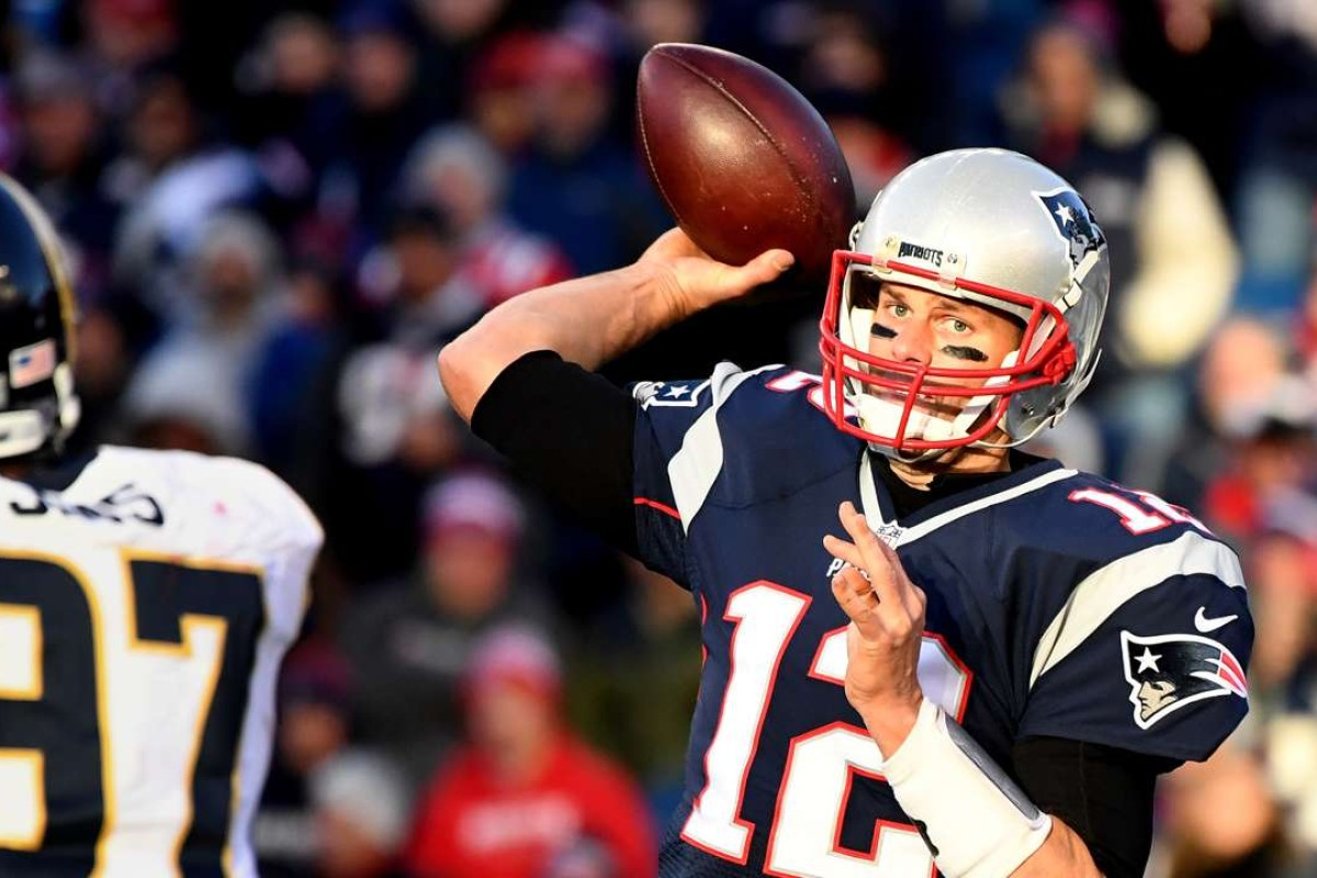 4d7bea8ac New England Patriots  Tom Brady became the most successful quarterback of  all-time in