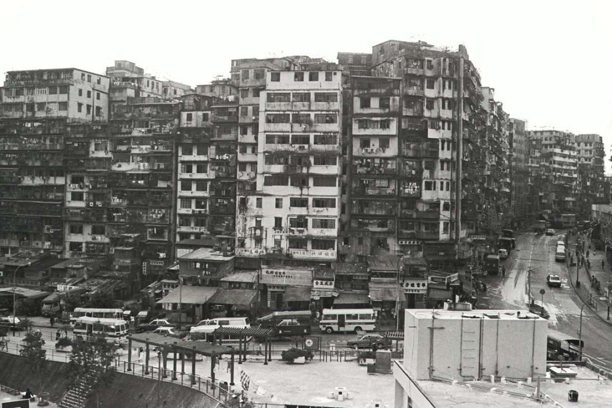 780728406 The Kowloon Walled City, which housed over 30,000 people, was torn down by  the