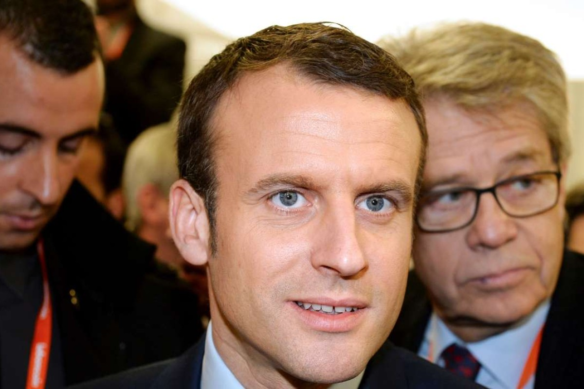 French Presidential Candidate Emmanuel Macron Laughs Off Gay Rumours South China Morning Post