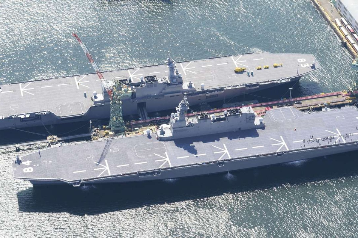 Japan now has two big helicopter carrier ships as Kaga