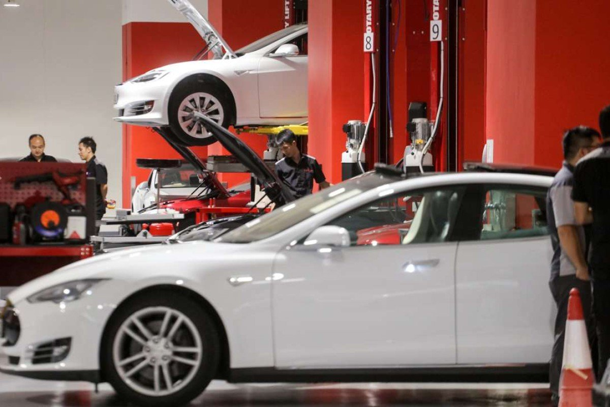 Image result for China gives approval to Tesla to start manufacturing in the country.
