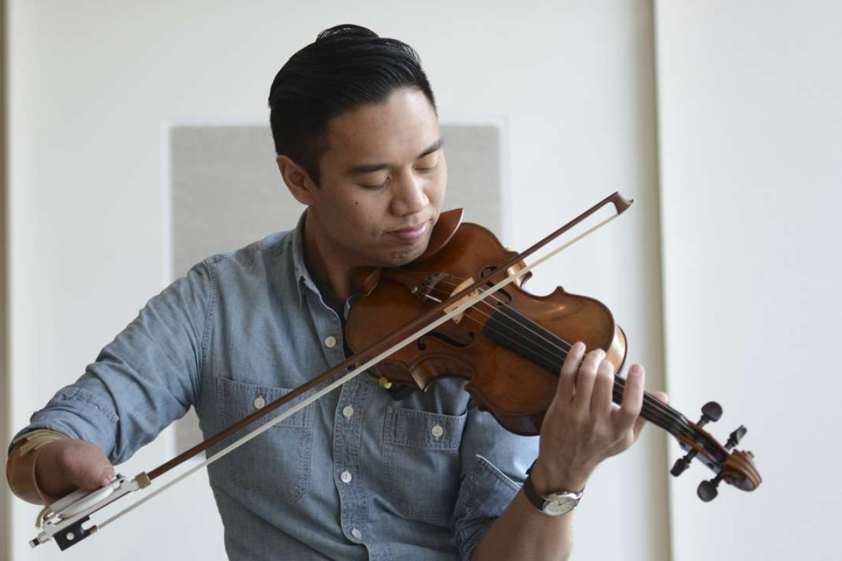 Why a one-handed violinist refuses to let his disability