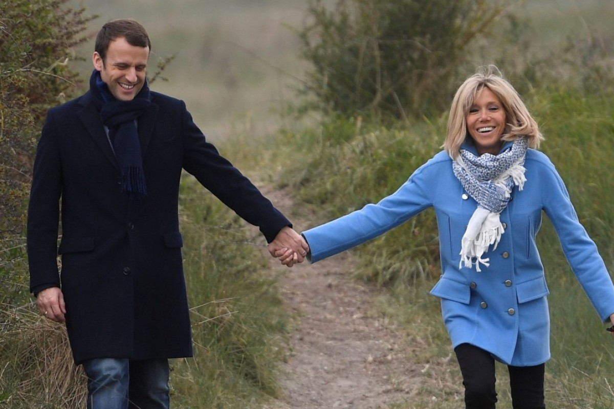 France S New First Lady Brigitte Macron Is Being Taunted Because She S 24 Years Older Than Her Husband South China Morning Post