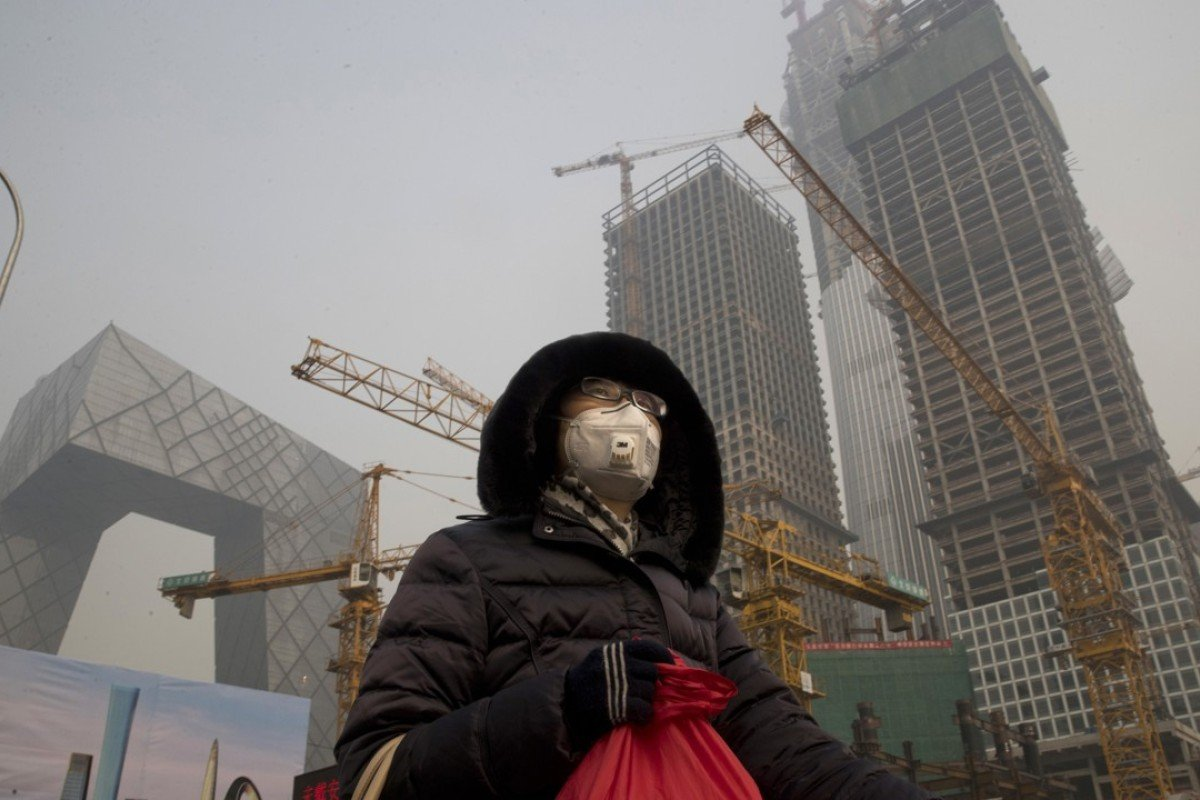Hot, smoggy weekend for Beijing as heavy ozone pollution