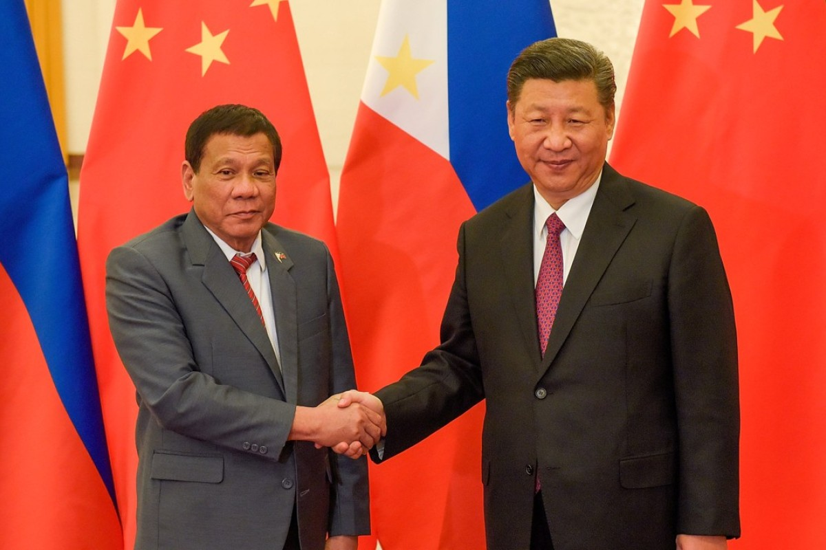 Image result for Duterte and xi jinping