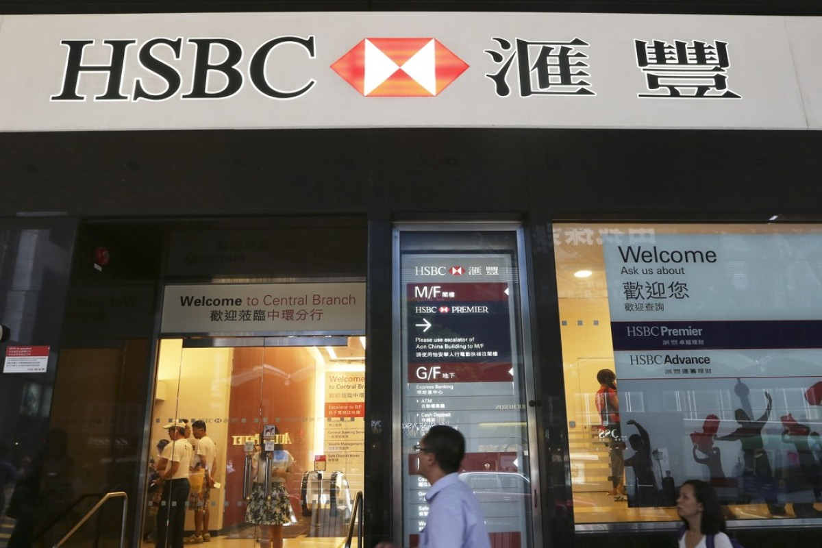 Hong Kong bank branches aren't closing – but they are
