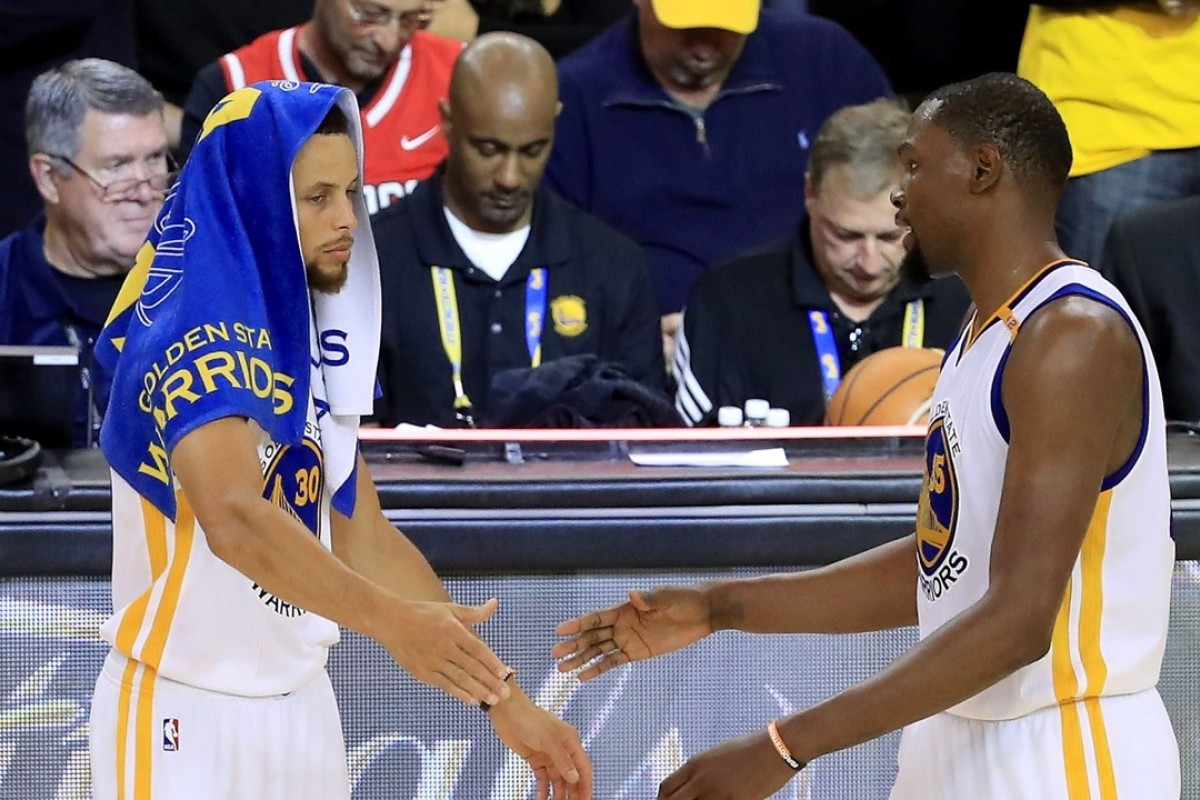 79e4c301f First blood to Warriors as Durant and Curry fire them to game one ...