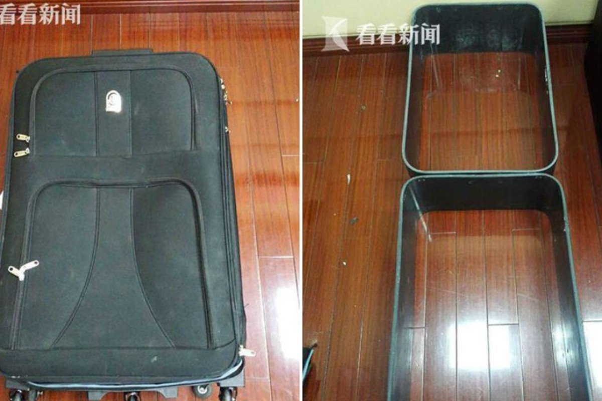 Drug mule caught in China 'built suitcases out of 10kg of cocaine