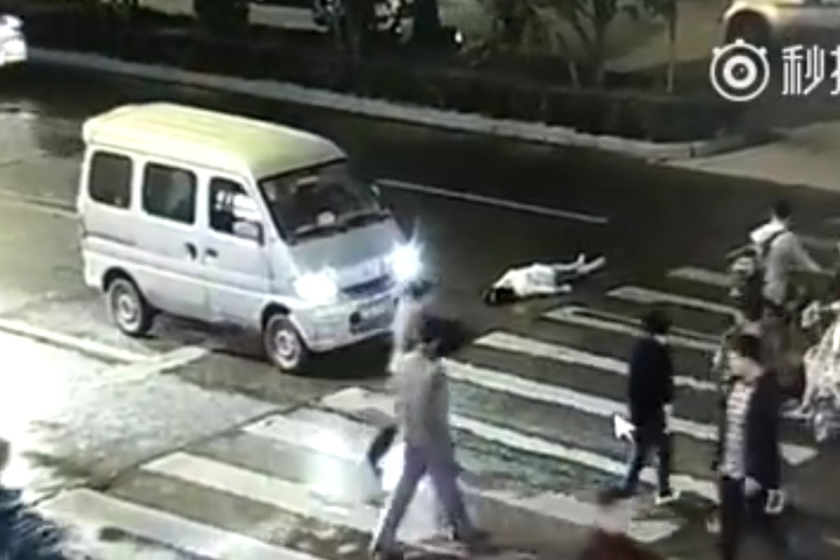 Outcry after Chinese woman hit by car, ignored, run over