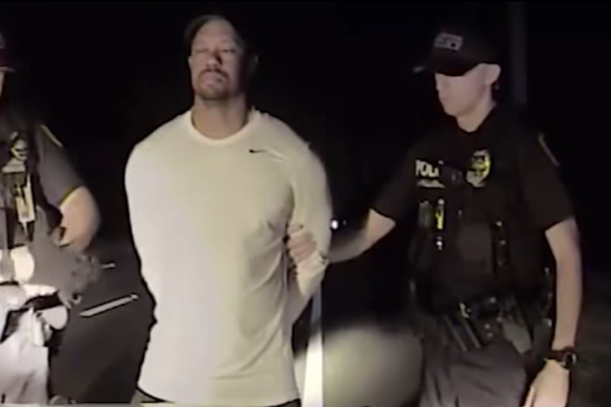 f34688638657e Tiger Woods tells police officers he was on strong anti-anxiety drug ...