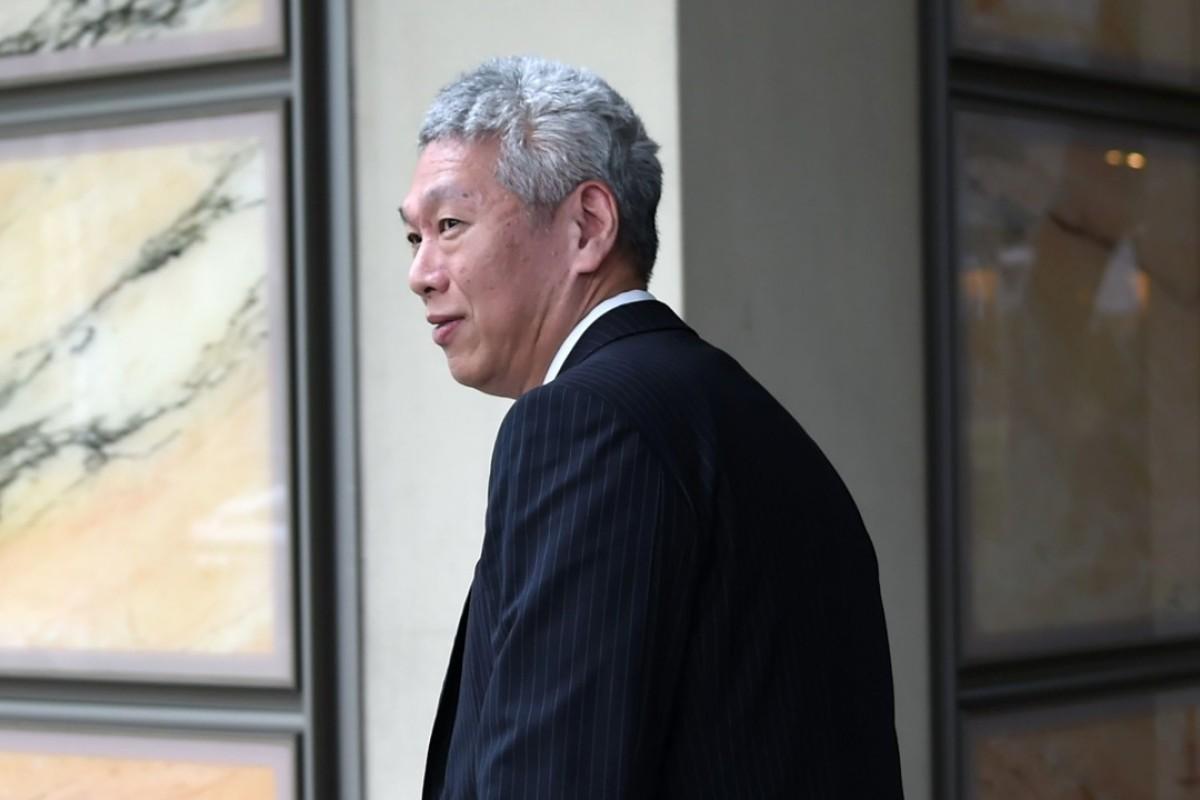 Lee Hsien Yang, estranged brother of Singapore PM, seen at Hong Kong