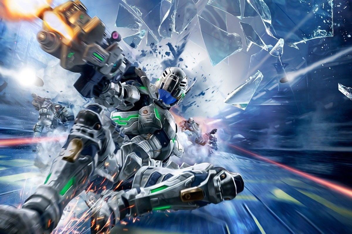 Game review: Vanquish – a fast-paced reboot for sleek space marine