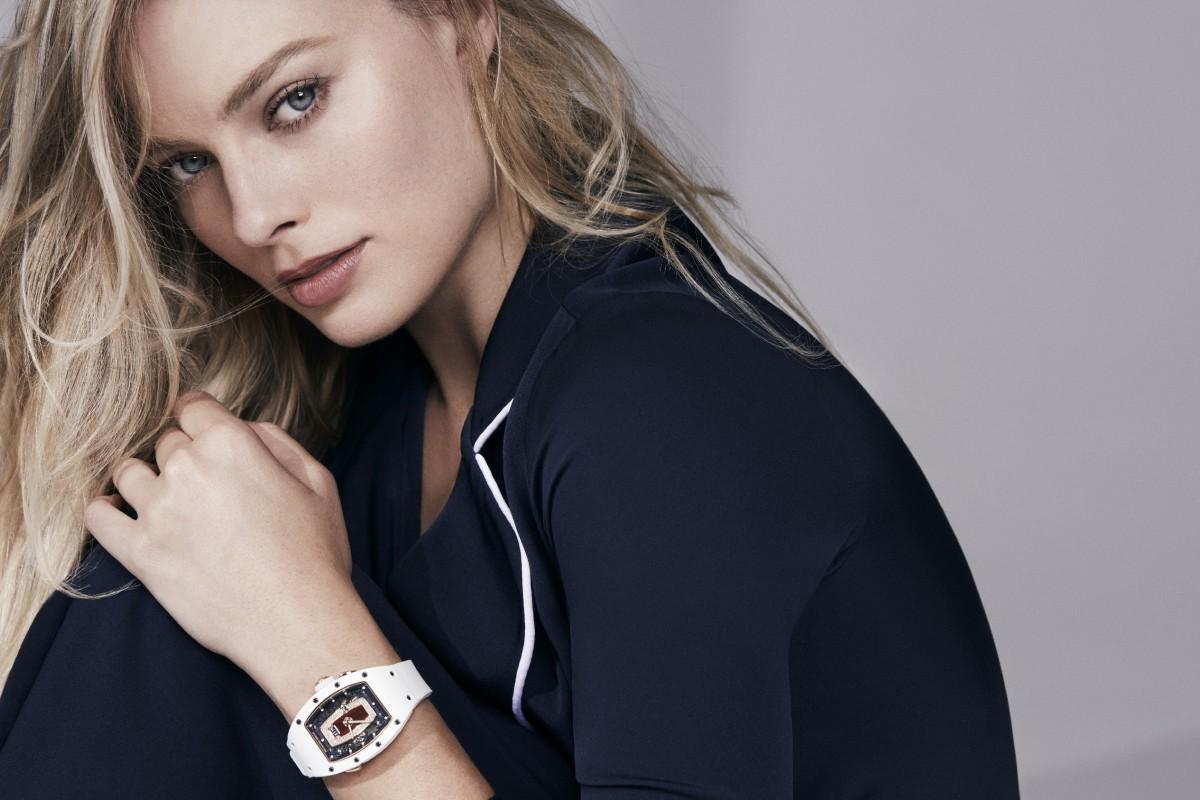 Australian actress Margot Robbie designs new watch models