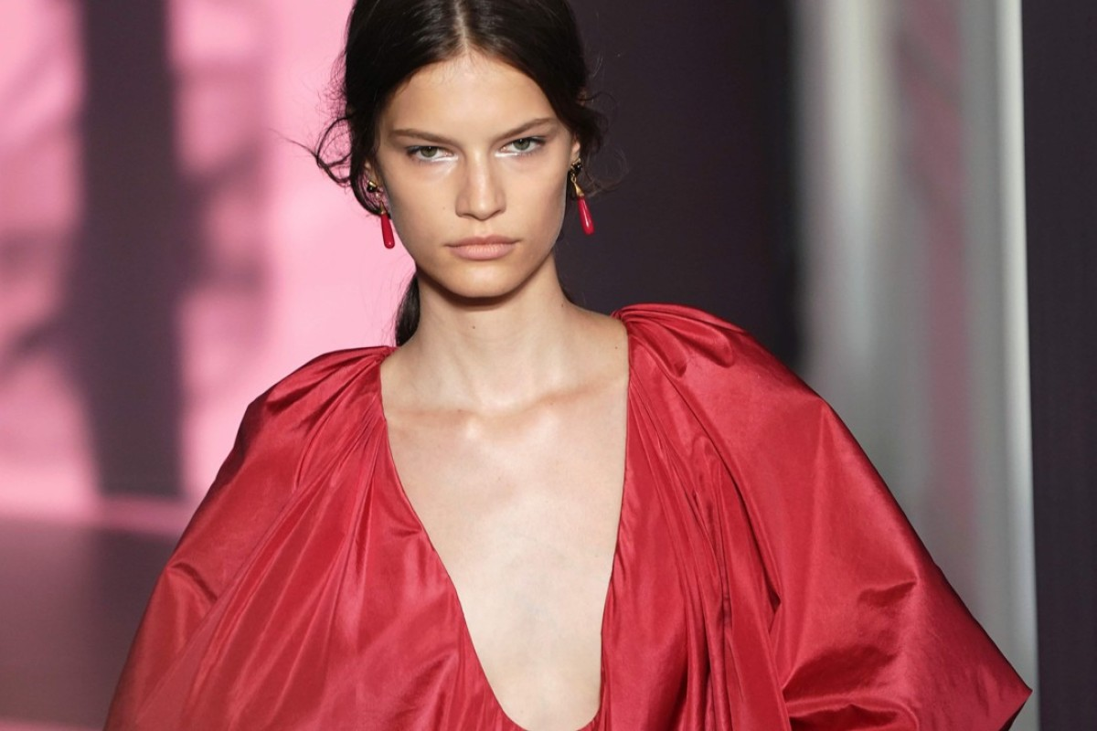 1dc8aa7ed7c914 A model presents creations for Valentino during the 2017-2018 fall winter  Haute Couture