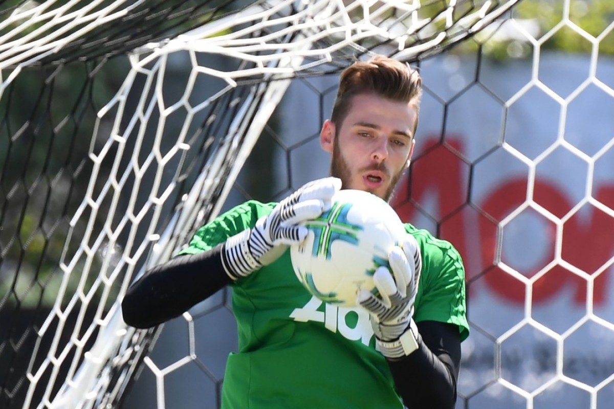 5d04e3d6d81 David de Gea is staying at Manchester United despite continued links with  Real Madrid. Photo