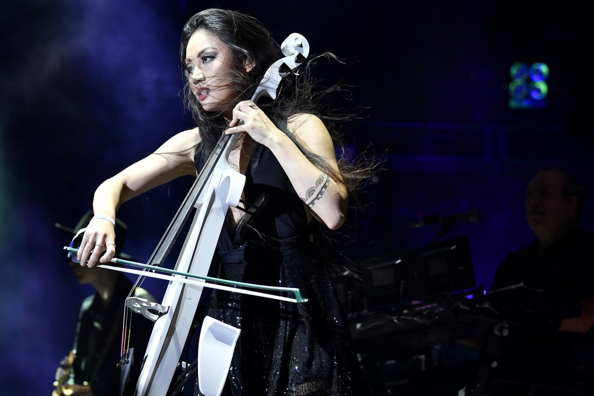 Cellist Tina Guo, heard in Wonder Woman theme, on touring with Hans