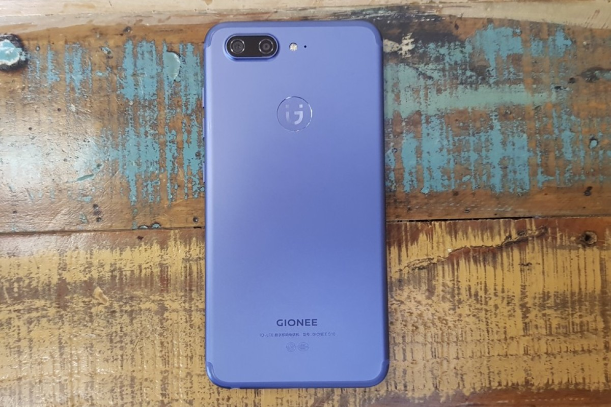 Review: smartphone with four cameras, the Gionee S10 takes well-lit