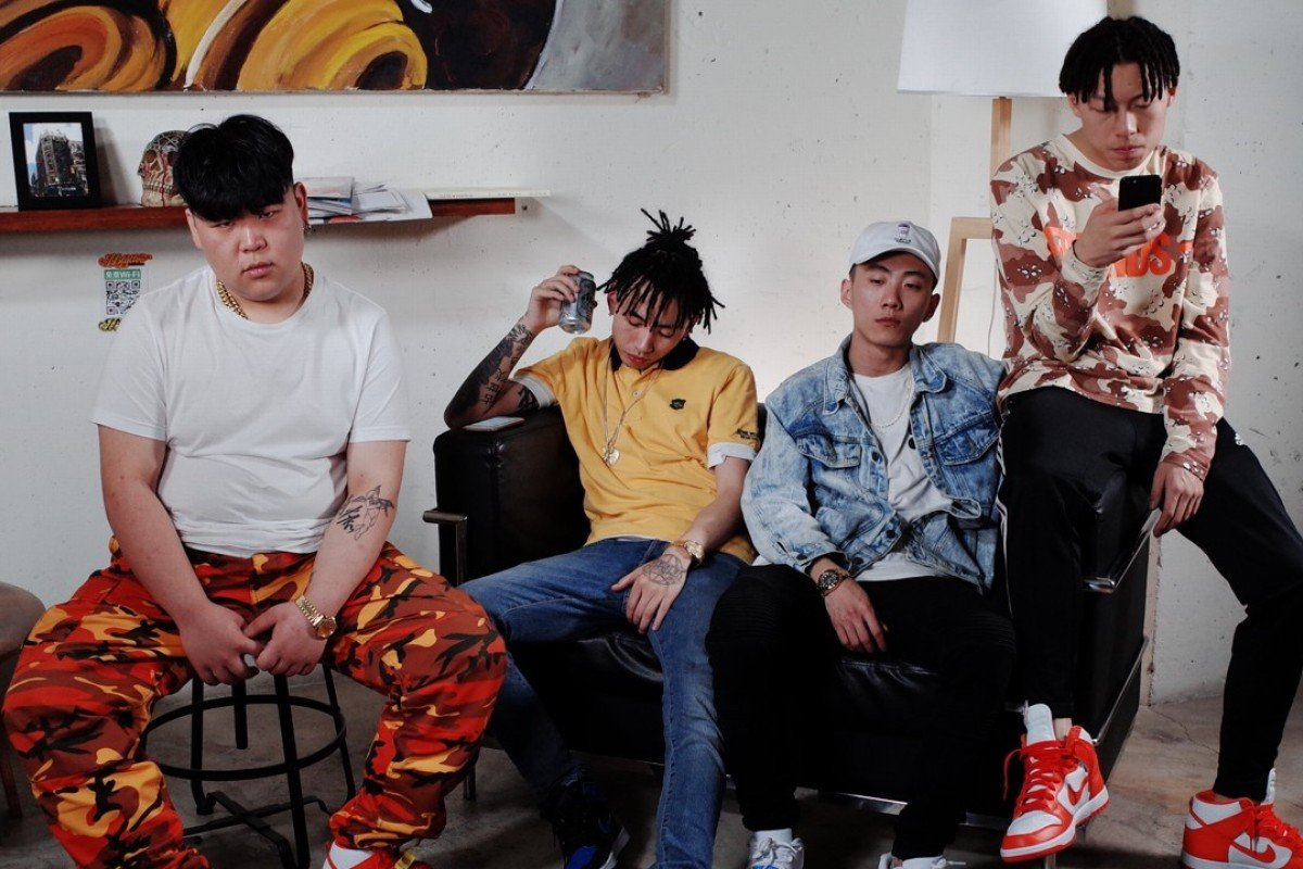 Chengdu rap crew Higher Brothers show off their illicit