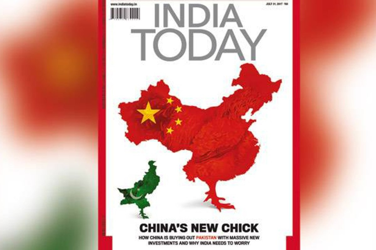 Chinese social media users fume over Indian magazine's omission of on
