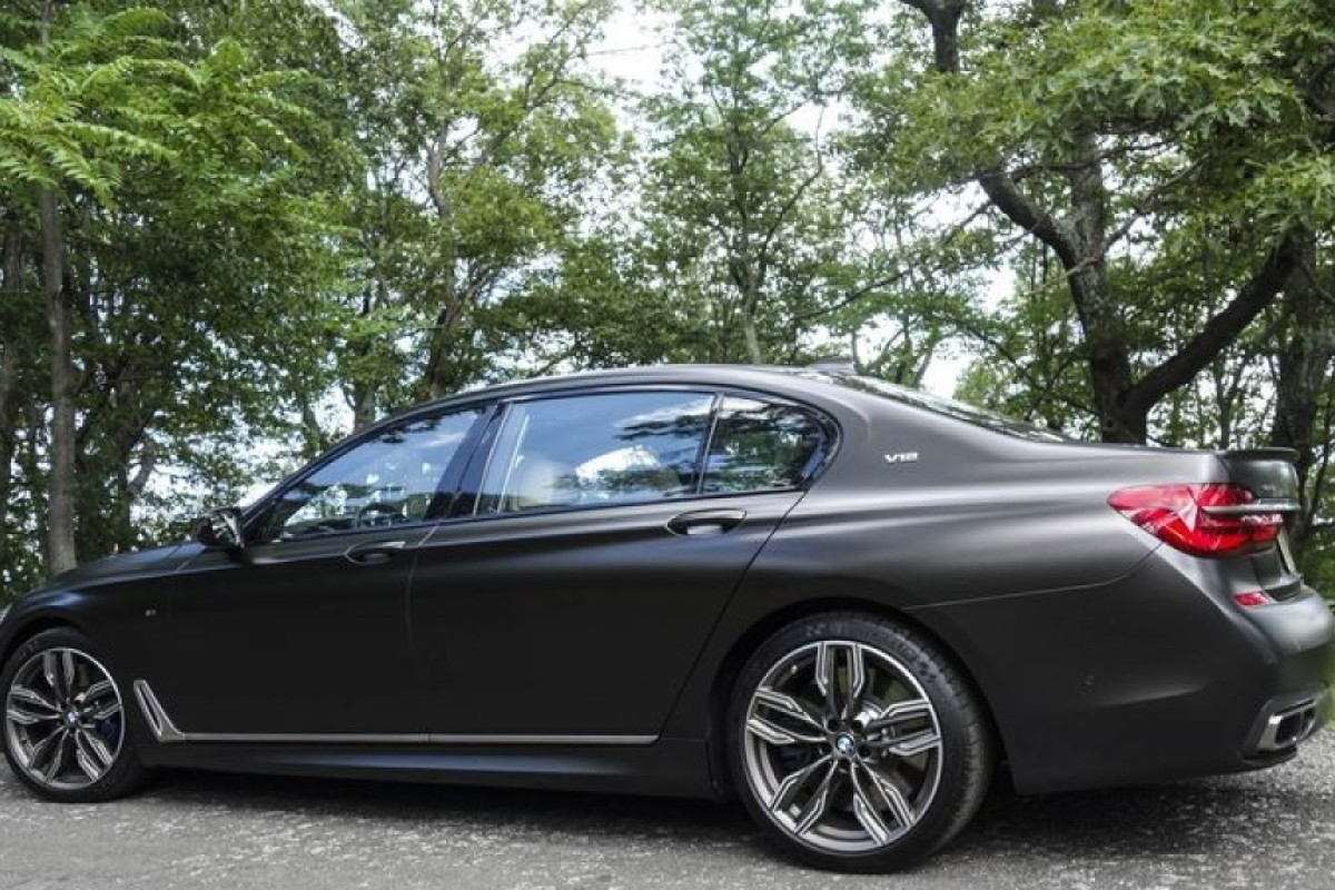Here's a superpowerful BMW that's best enjoyed from the back