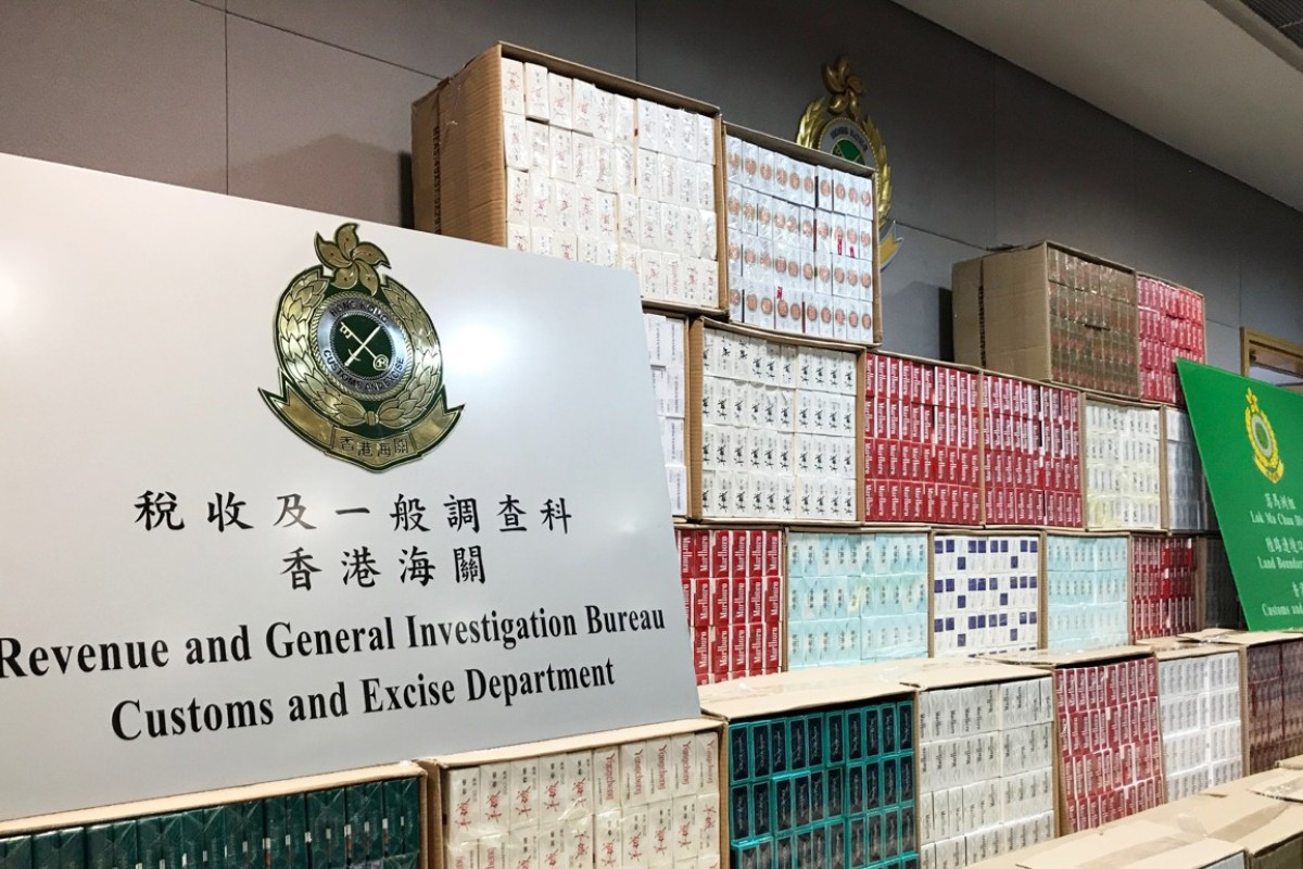 HK$8 million in contraband cigarettes seized in less than