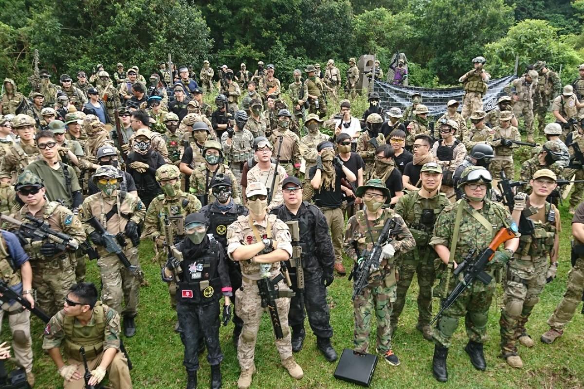 Battlefield Hong Kong: meet the airsoft soldiers taking