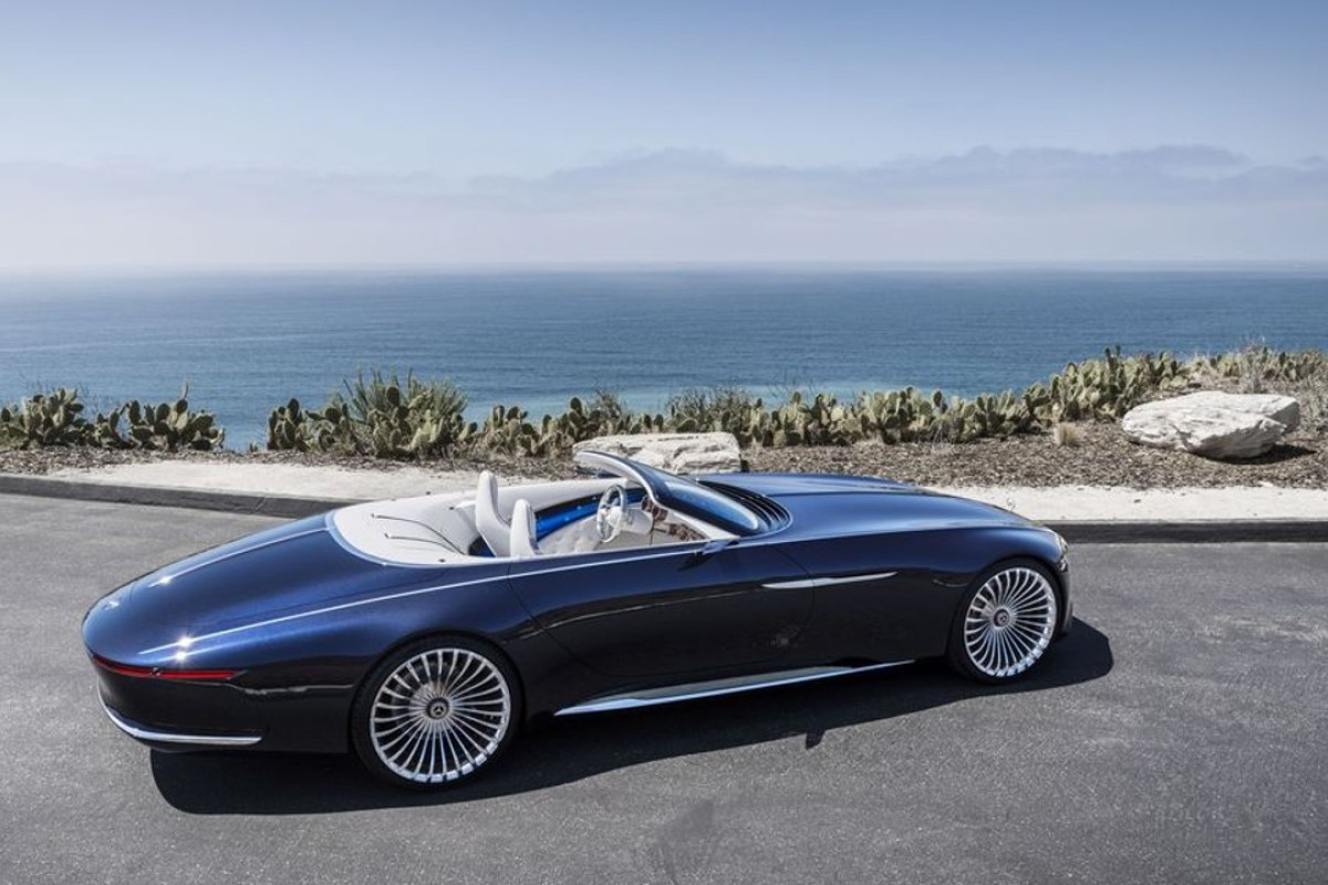 The New Mercedes Maybach Concept Is A 20 Foot Long Convertible South China Morning Post