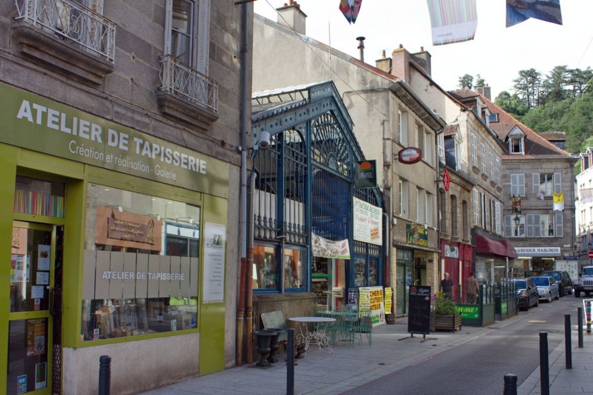 World Capital Of Tapestry Frances Aubusson Is A Quaint