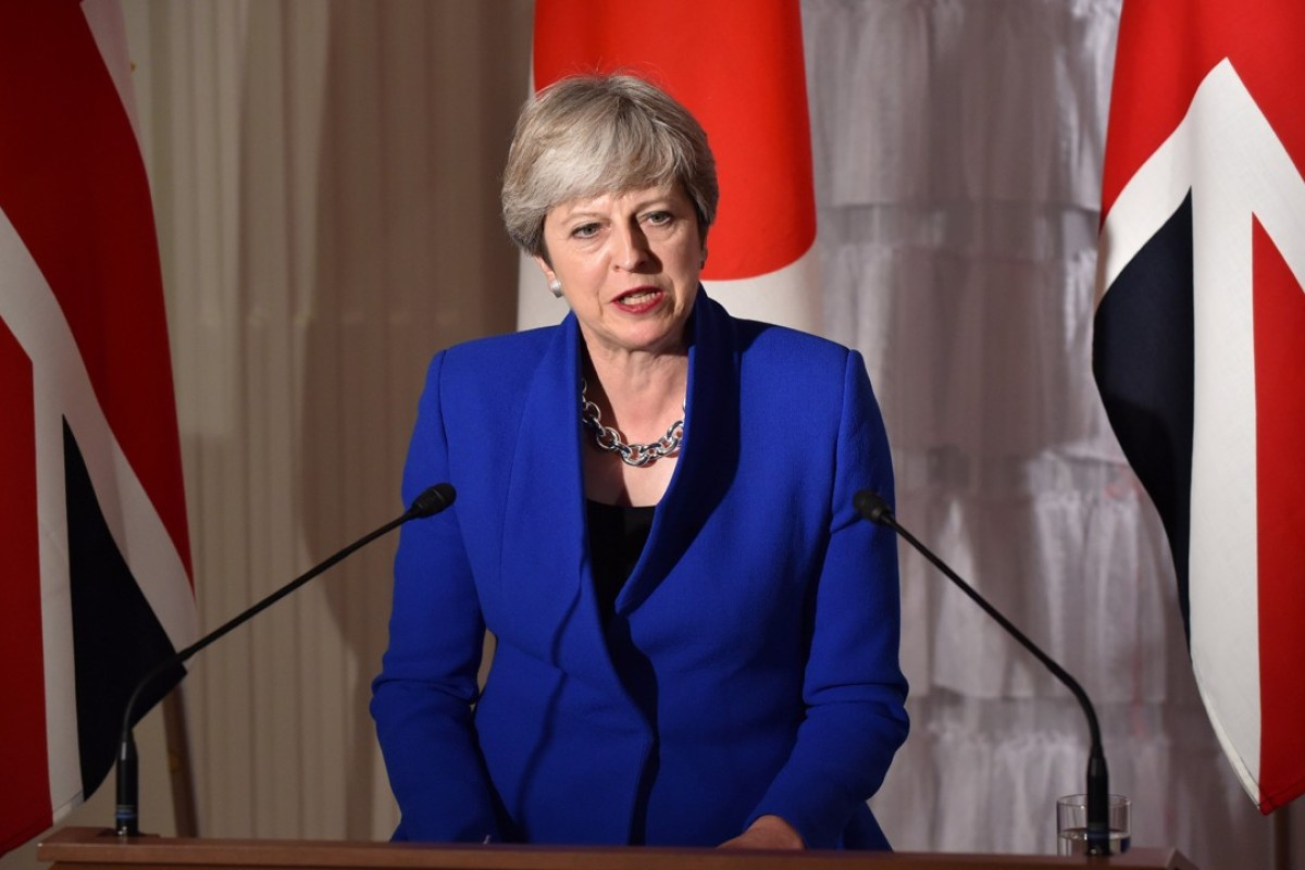 Leaked document reveals Prime Minister Theresa May's plans
