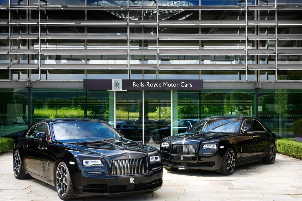 If Darth Vader were to own a Rolls-Royce, it'll probably