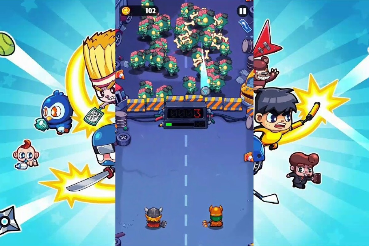 Game review: Smashy Duo – mobile squash against monsters