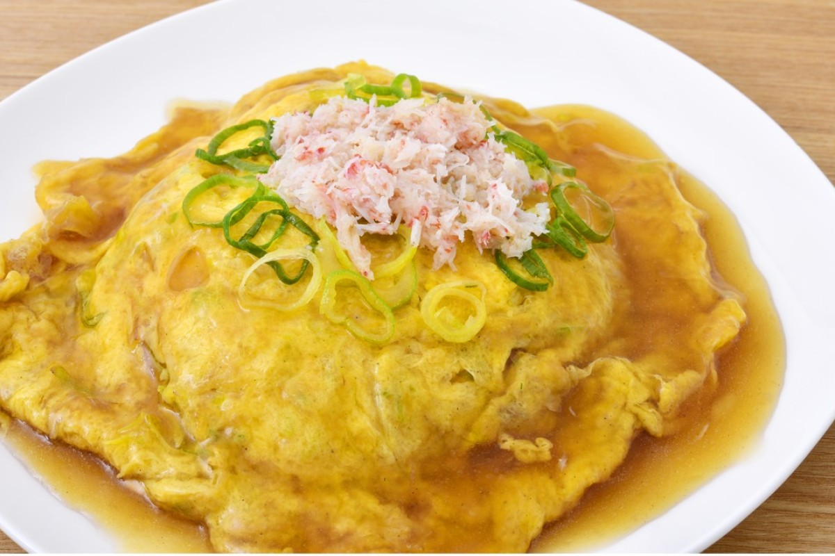 Why tenshindon – crab omelette on rice – owes its name to