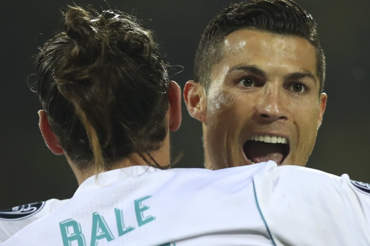 a7917ad9b Zidane hails Gareth Bale and Cristiano Ronaldo as Real Madrid pair ...