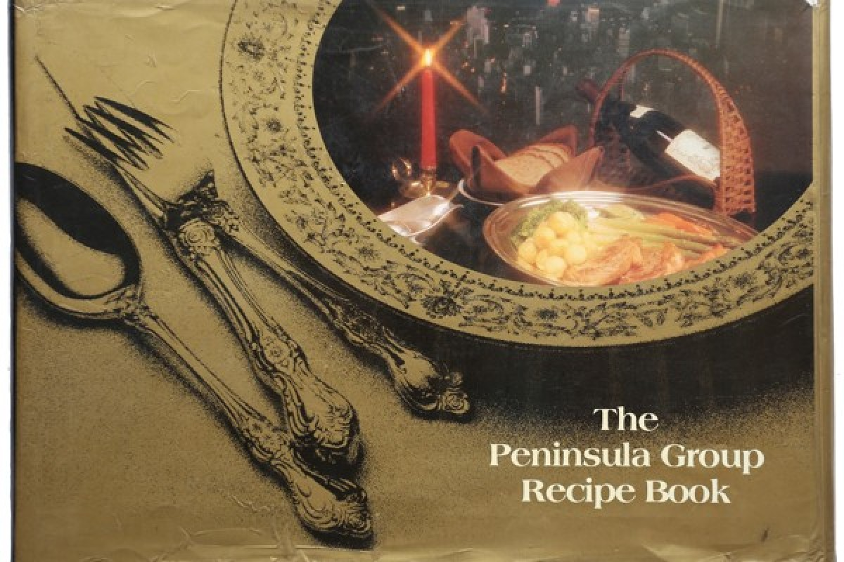 Peninsula cookbook reveals what fine diners were eating in
