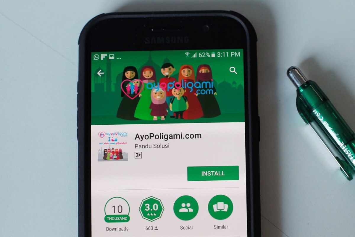 Indonesian dating app stirs controversy over polygamy