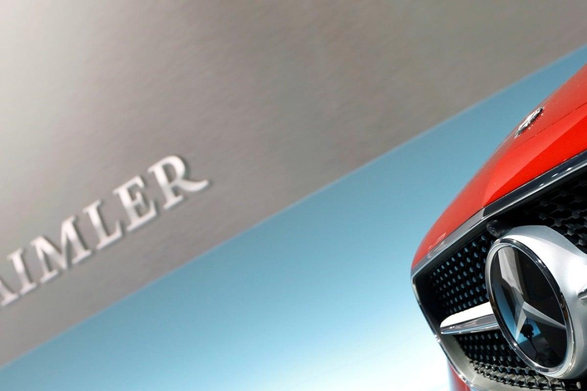 German carmaker Daimler recalls more than a million Mercedes