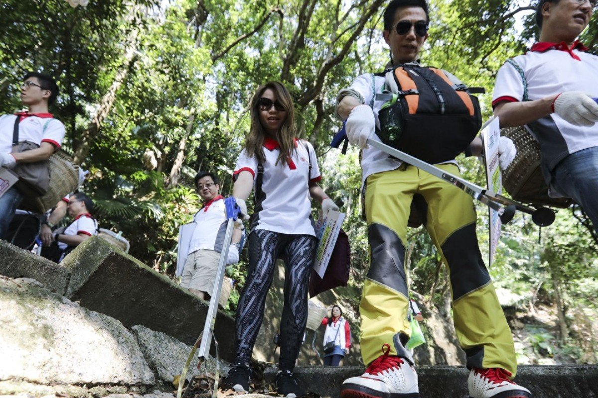 Four in five Hong Kong country park visitors back removal of rubbish